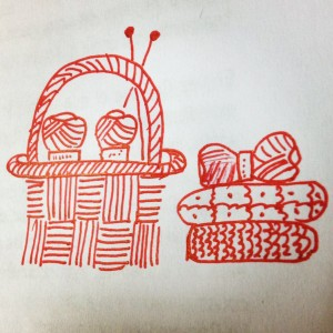 Dibujo canastos