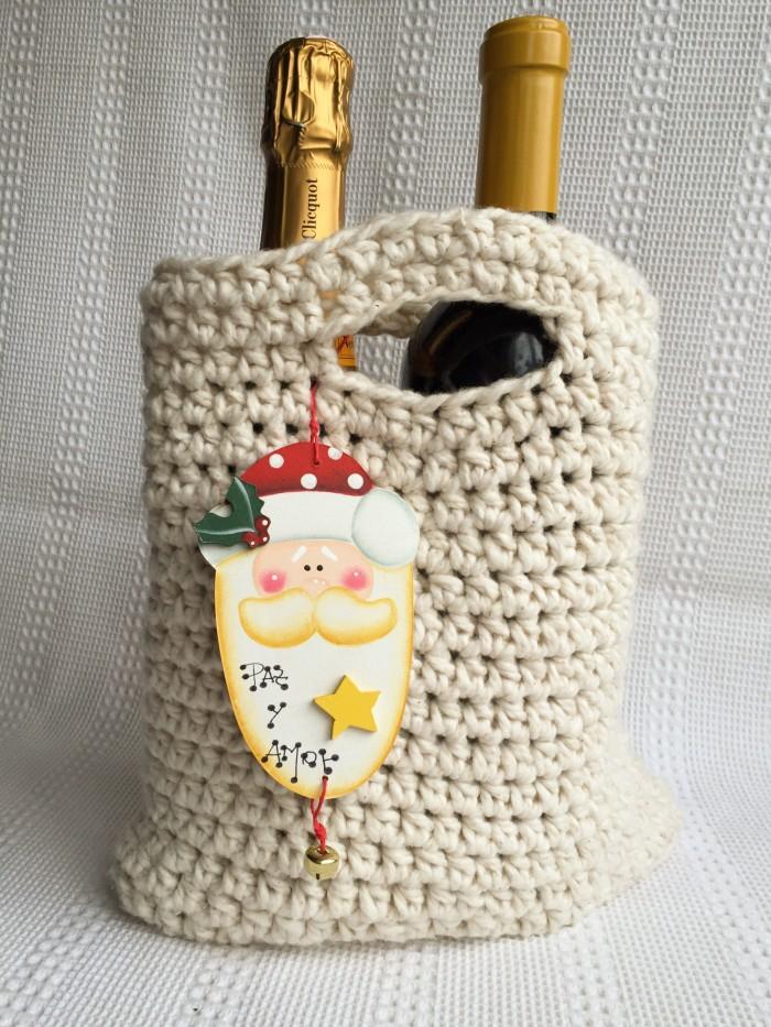 Cartera de playa al crochet - Espacio Claudelina