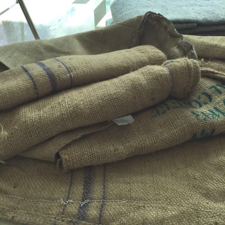 Bolsas de café de yute
