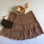 Ideas en 5 minutos: poncho al crochet