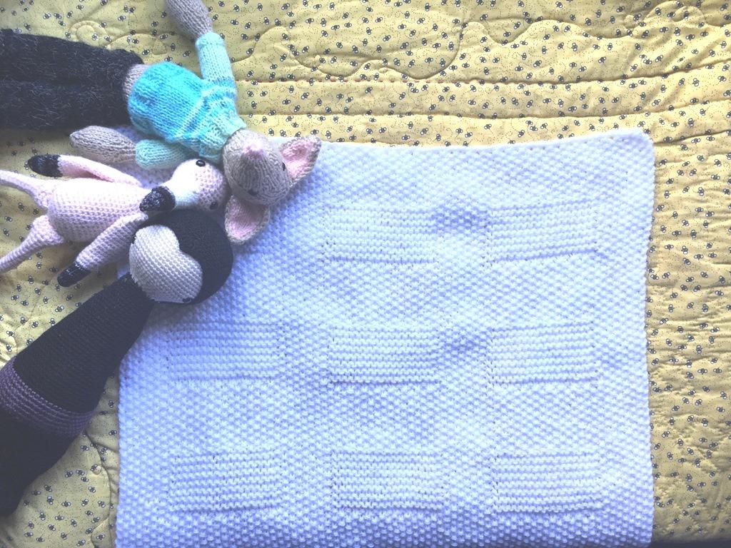 Manta de bebé para cochecito - Espacio Claudelina