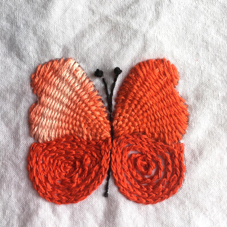 Lujo Mariposa Patrón De Crochet Manta Friso - Patrón de Vestido de ...