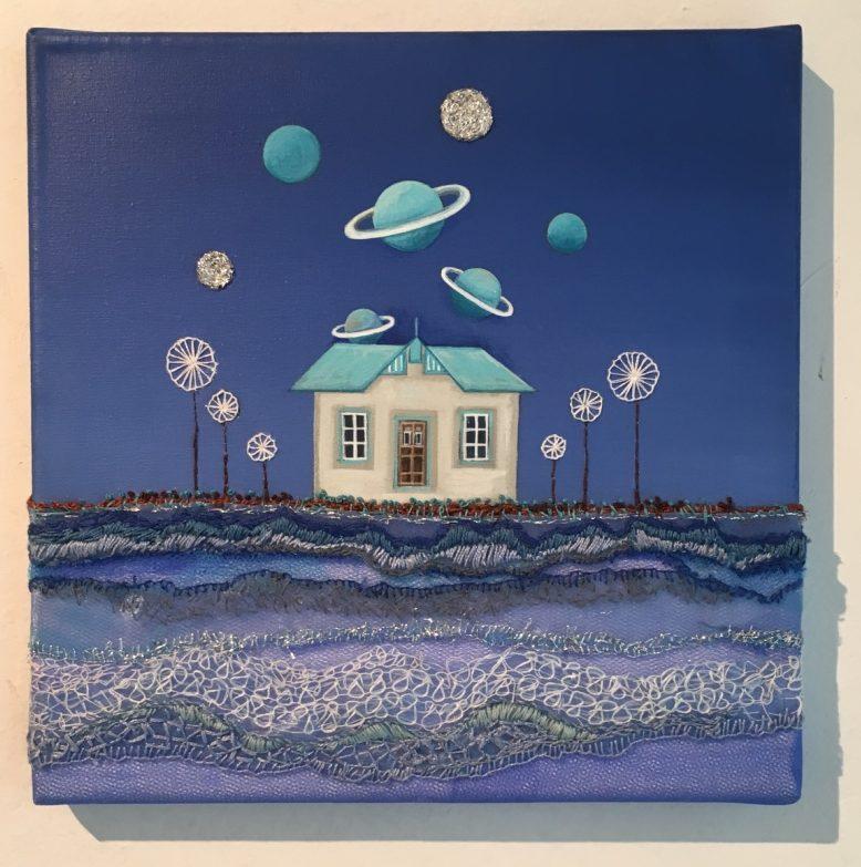 Casita y Planeta 1 y 2, de Elsa Zaparart