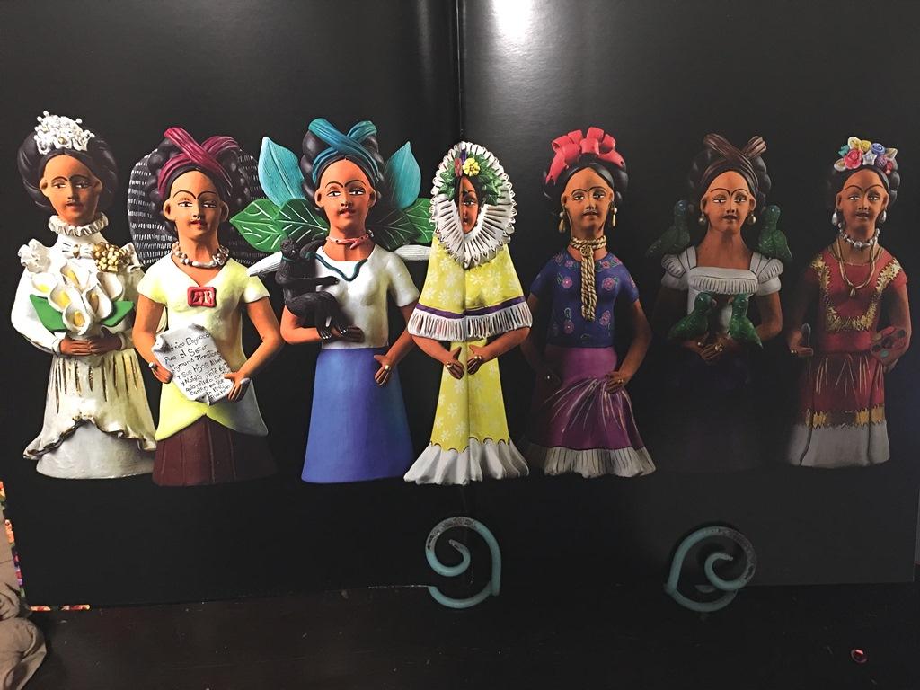 Un catálogo de museo - Barro moldeado, Mexico