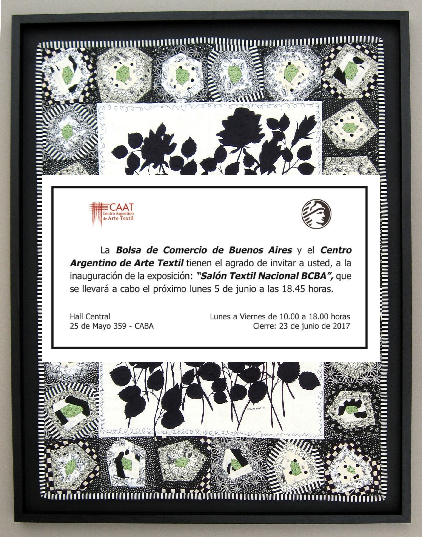 Expo textil en la Bolsa de Comercio - Espacio Claudelina