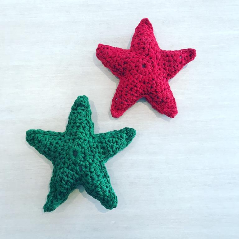 Estrella de navidad al crochet - Espacio Claudelina