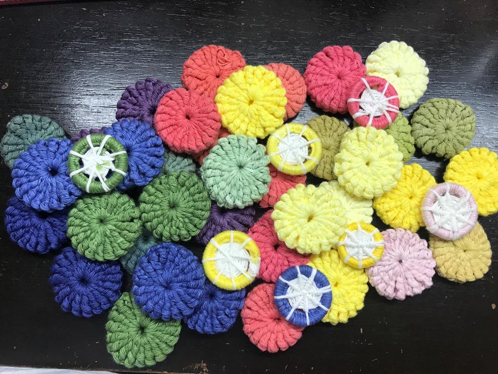 Cómo teñir hilo de algodón en casa - Espacio Claudelina