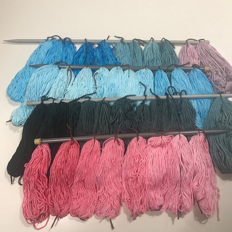 venta caliente barato comprar nuevo numerosos en variedad Cómo teñir hilo de algodón en casa - Espacio Claudelina